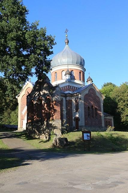 Cerkiew i dąb Jagiellon w Rzepniku