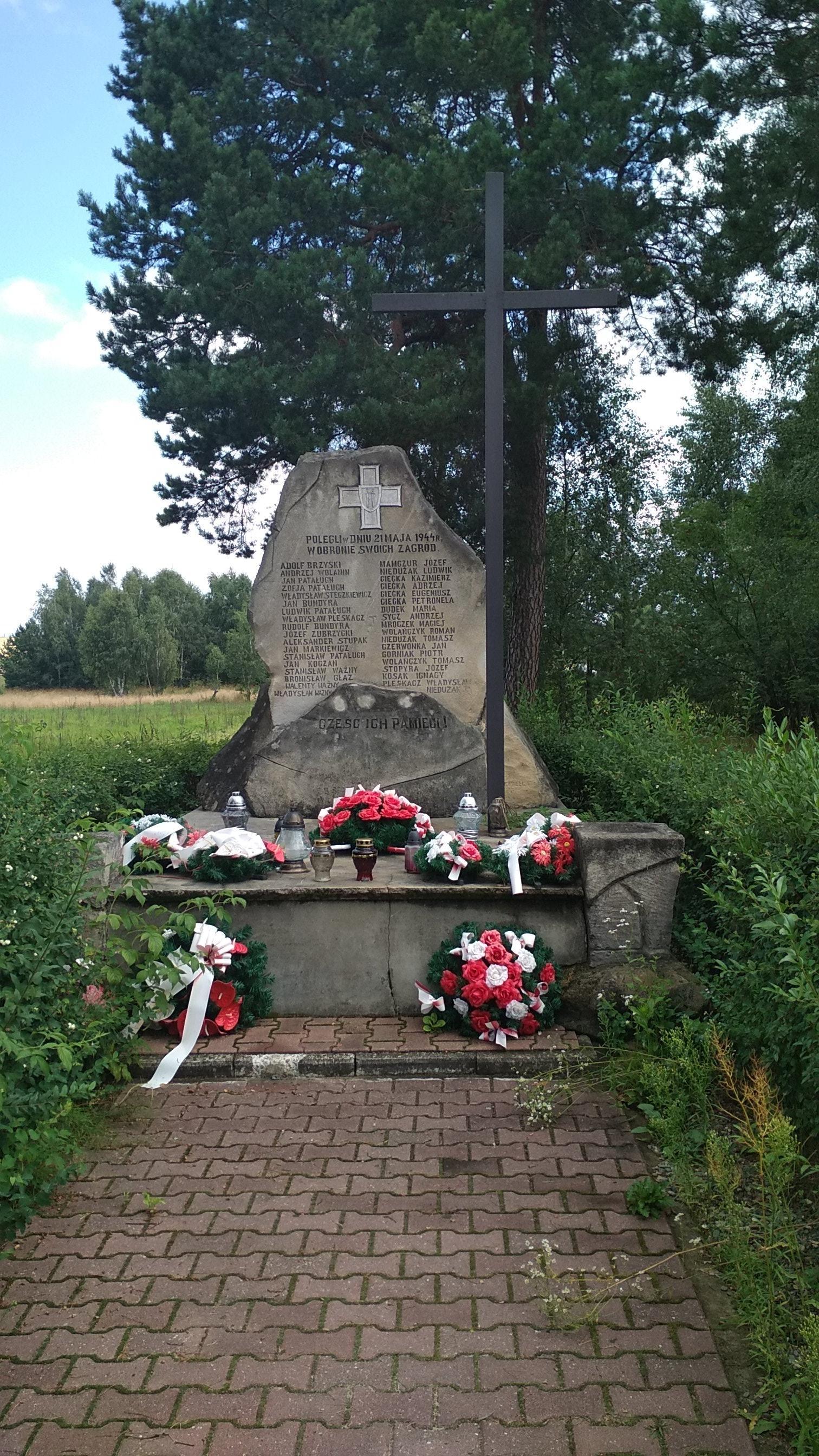 Lipsko – pomnik ofiar UPA