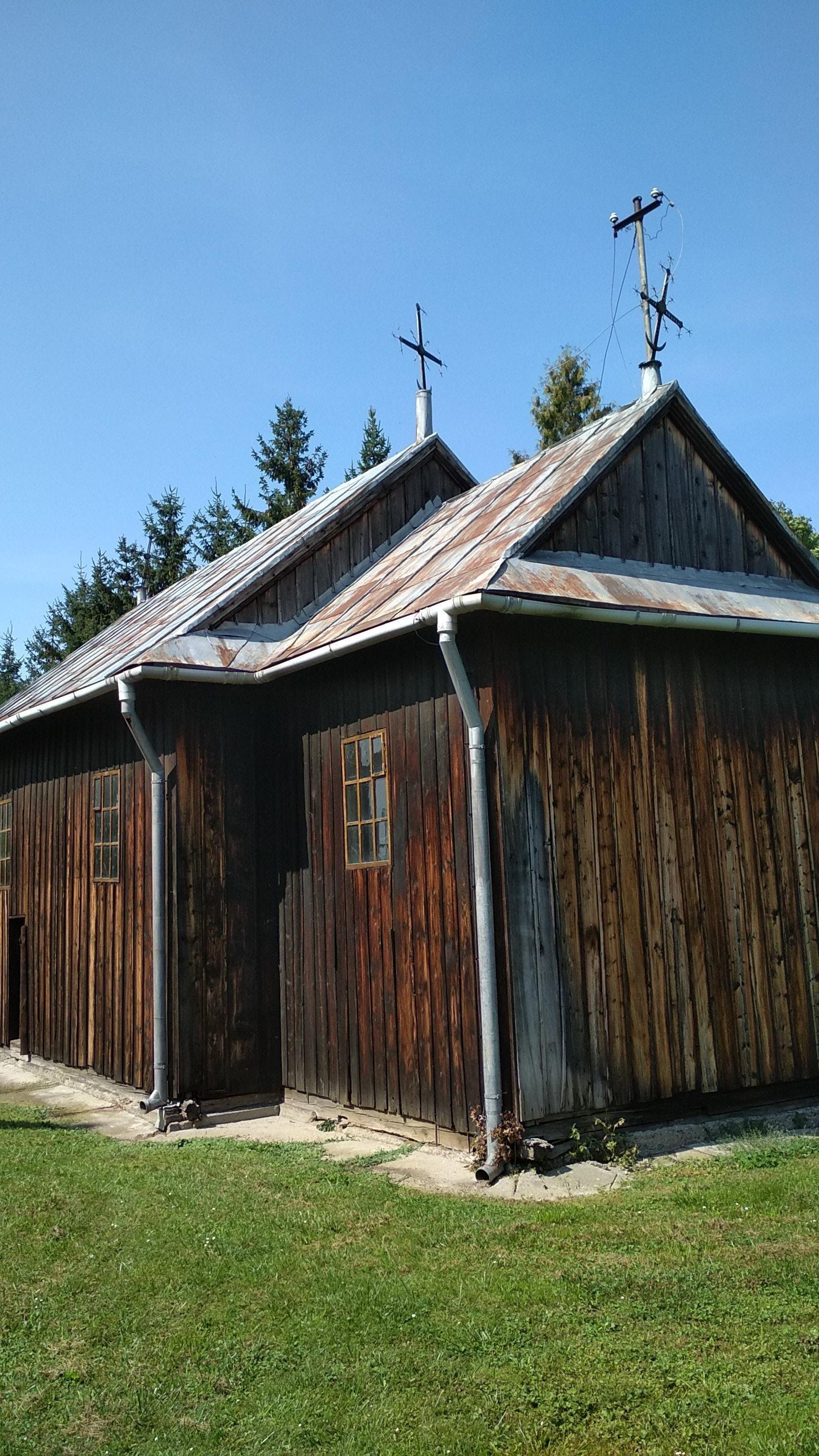 Grabowiec– Drewniana cerkiew
