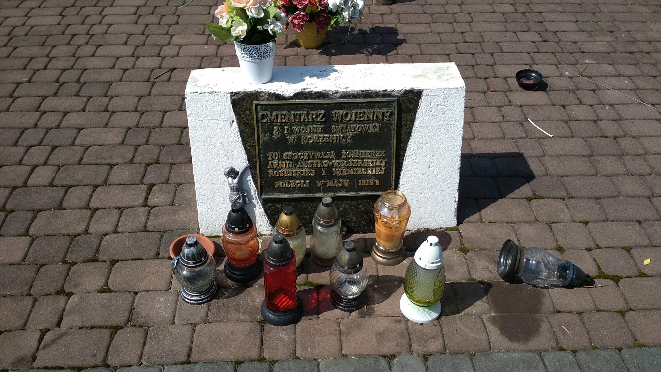Korzenica – Cmentarz z I wojny światowej