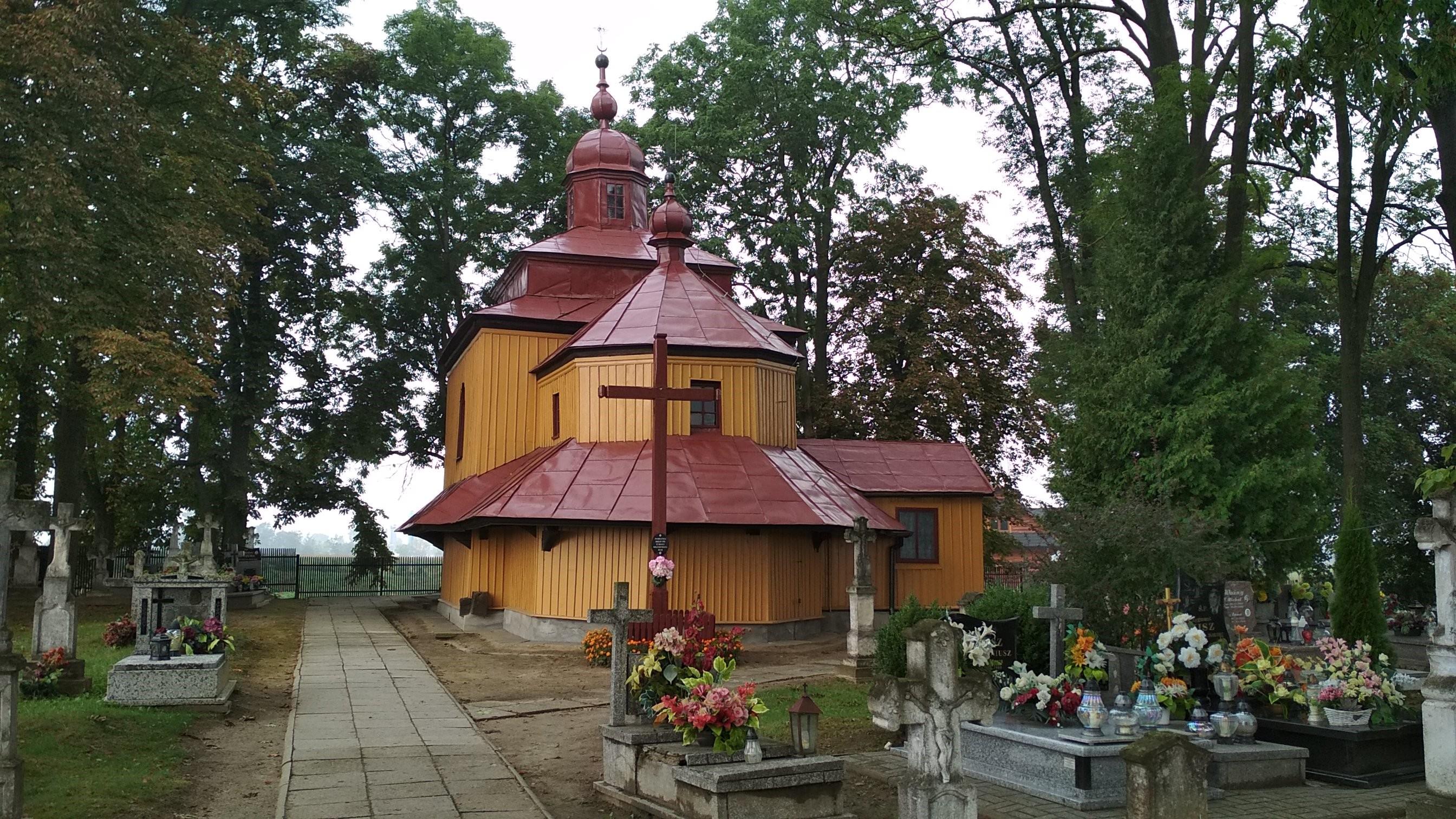 Borchów – Dawna greckokatolicka cerkiew
