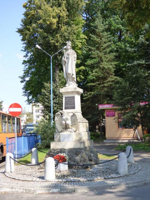 Pomnik Grunwaldzki w Brzozowie