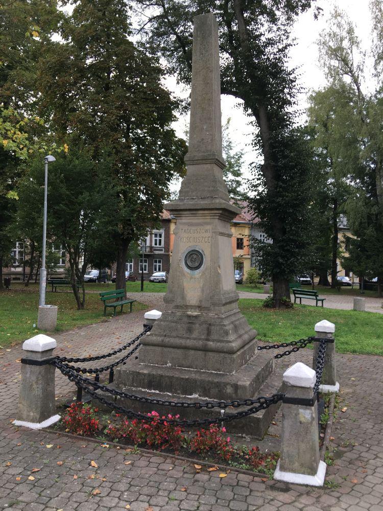 G23 Pomnik Tadeusza Kościuszki w Lesku