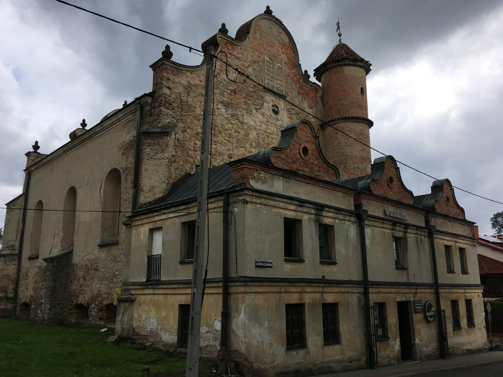 G30 Synagoga i kirkut w Lesku